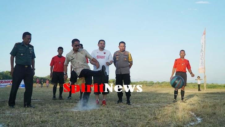 Camat Tallo Buka Turnamen Tallo Cup I, Disaksikan CEO PSM