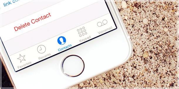 طريقة حذف جهات الاتصال في الايفون دفعة واحدة بدون برامج