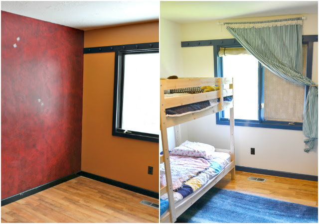 Boy and Girl Shared Bedroom: Before and After