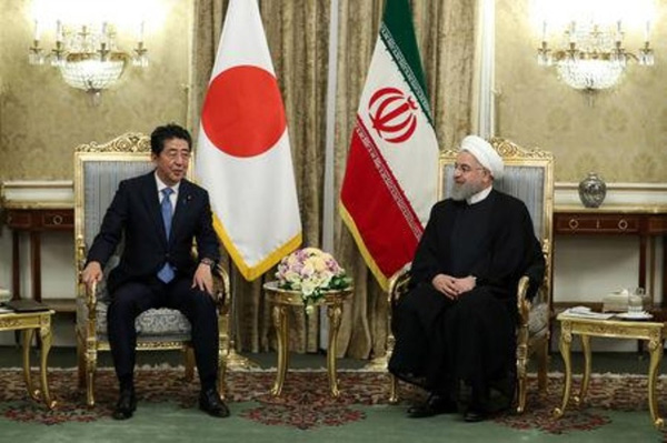 Rouhani: Japan wants to keep buying Iranian oil, Dubai, News, Gulf, Japan, Iran, America, Report, Media, World
