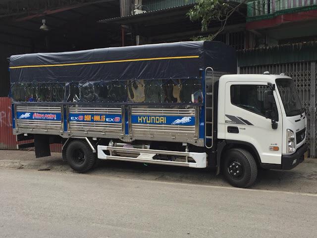 Đóng thùng bạt inox xe tải 8 tấn
