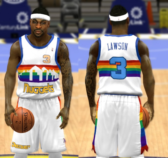 ce969d5d1959 ORG Denver Nuggets Jersey Included in the pack ...