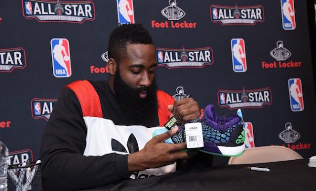 Harden diseñará zapatillas para adidas