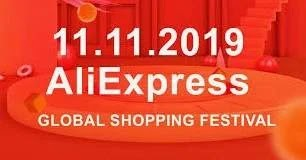 Promoção AliExpress Festival Descontos 11 Novembro 2019
