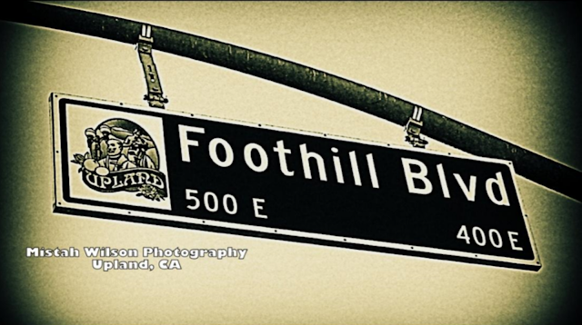 Foothill Boulevard, Upland, California by Mistah Wilson