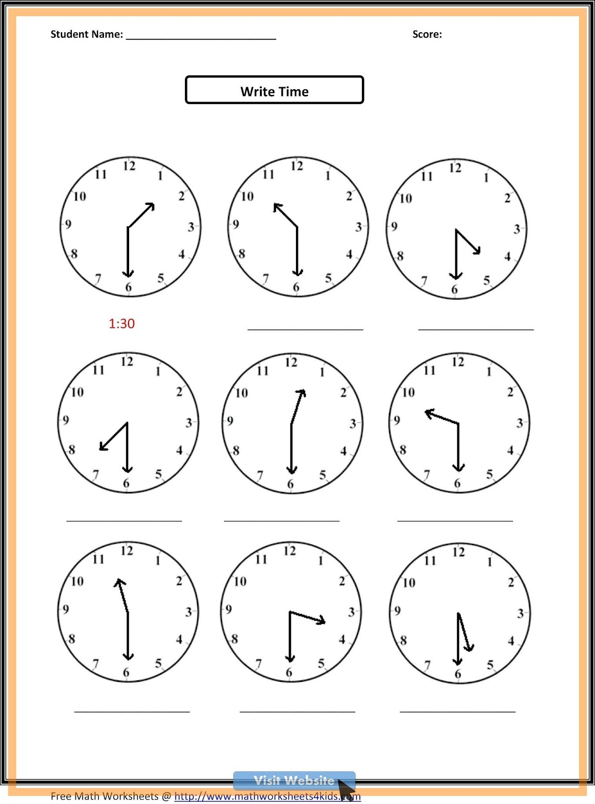 3rd Grade Math Worksheets Word Problems Free Printable