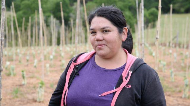 Agricultora Yanet Vera