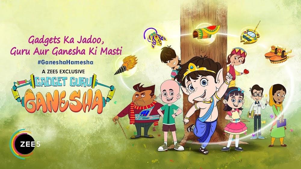 Gadget Guru Ganesha Season 1 Hindi Episodes Download | 480p | 360p