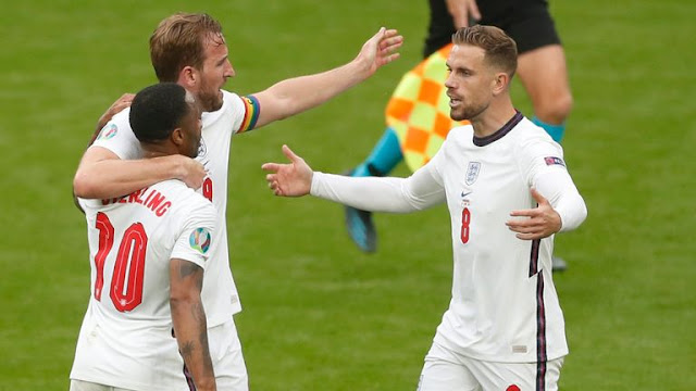 England match at KTN home Euro 2020/21 game of the day photo