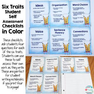 Six Traits of Writing Checklists