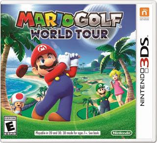 Mario Golf World Tour, 3ds, español, Mega