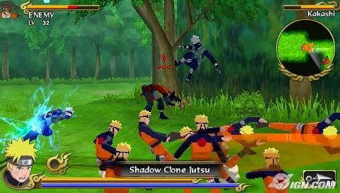 download game Naruto Shippuden Legends Akatsuki Rising iso