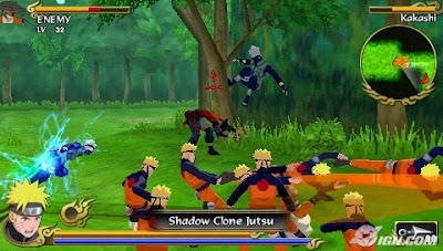 download game Naruto Shippuden Legends Akatsuki Rising iso