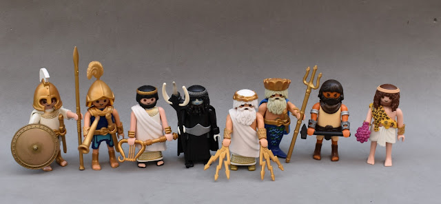 PLAYMOBIL CUSTOM FIGURE ANCIENT GREECE GODS