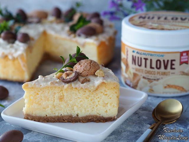 NUTLOVE White Choco Peanut Allnutrition