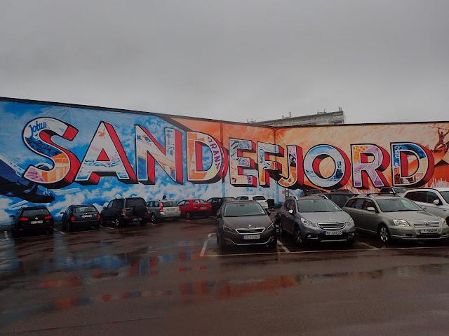 Sandefjordzkie graffiti :-D