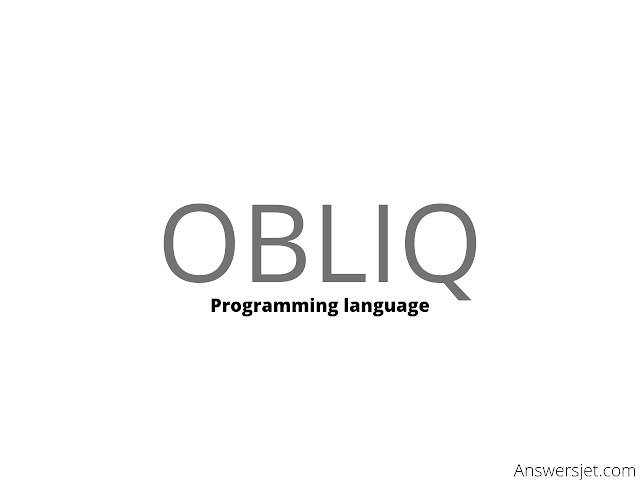Obliq programming language: history, features, applications, Why learn?
