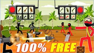 Game Stickman Army : Team Battle App