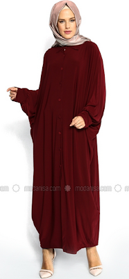 Baju Muslim Kaftan untuk Kerja