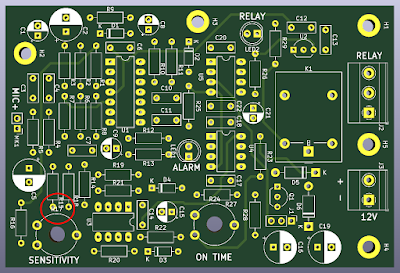 PCB design in KiCad 3D Viewer