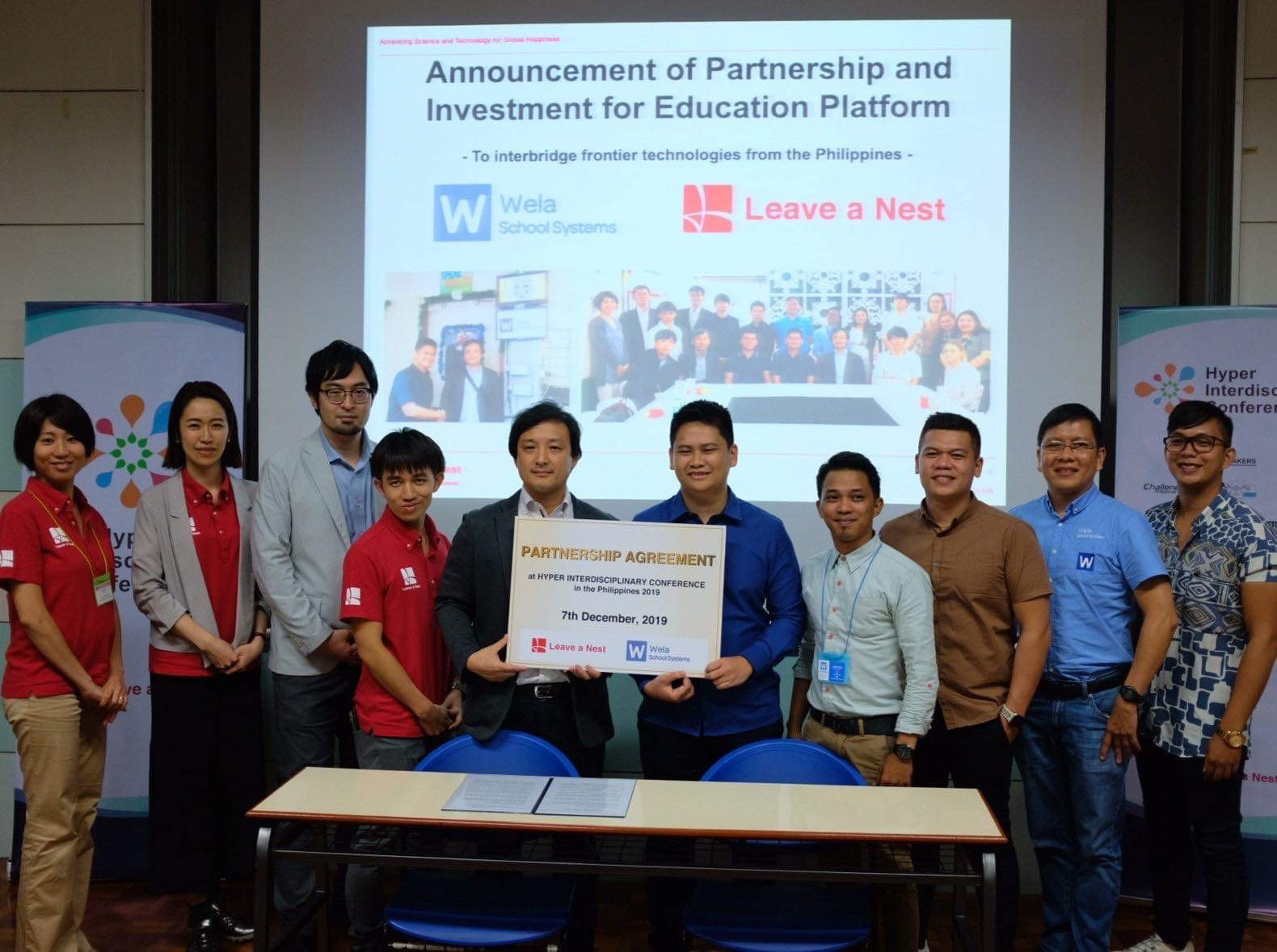 Japanese technology company will invest on CDO-based educ startup Wela Online Corp.
