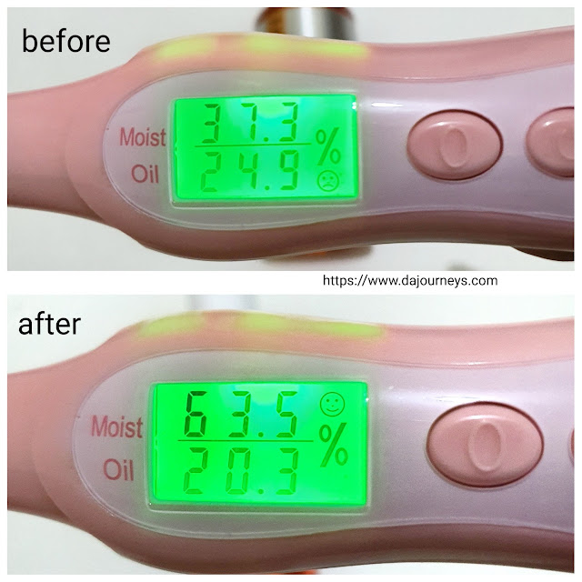 Review ACWELL Betaglution Ultra Moisture Milk Oil