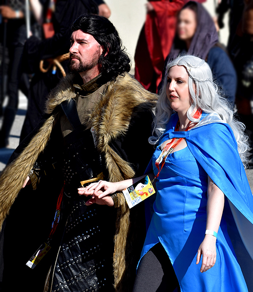 Cosplay Volunteers of Atlanta | Dragon Con Parade 2019 | Photo: Travis Swann Taylor