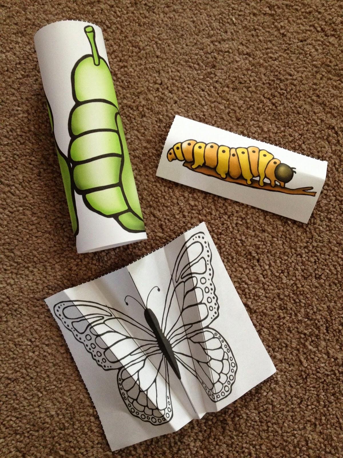 Crayons Amp Cuties In Kindergarten Interactive Butterfly