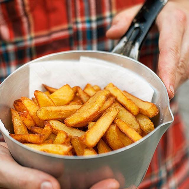 طريقة عمل بطاطس مقرمشة من غيرنقطة زيت