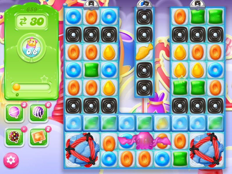 Candy Crush Jelly Saga level 659