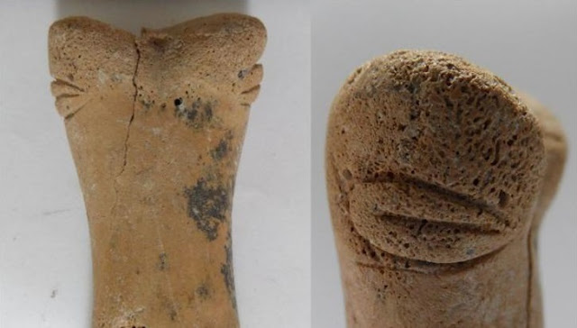 Unique bone figurine discovered in Catalhoyuk
