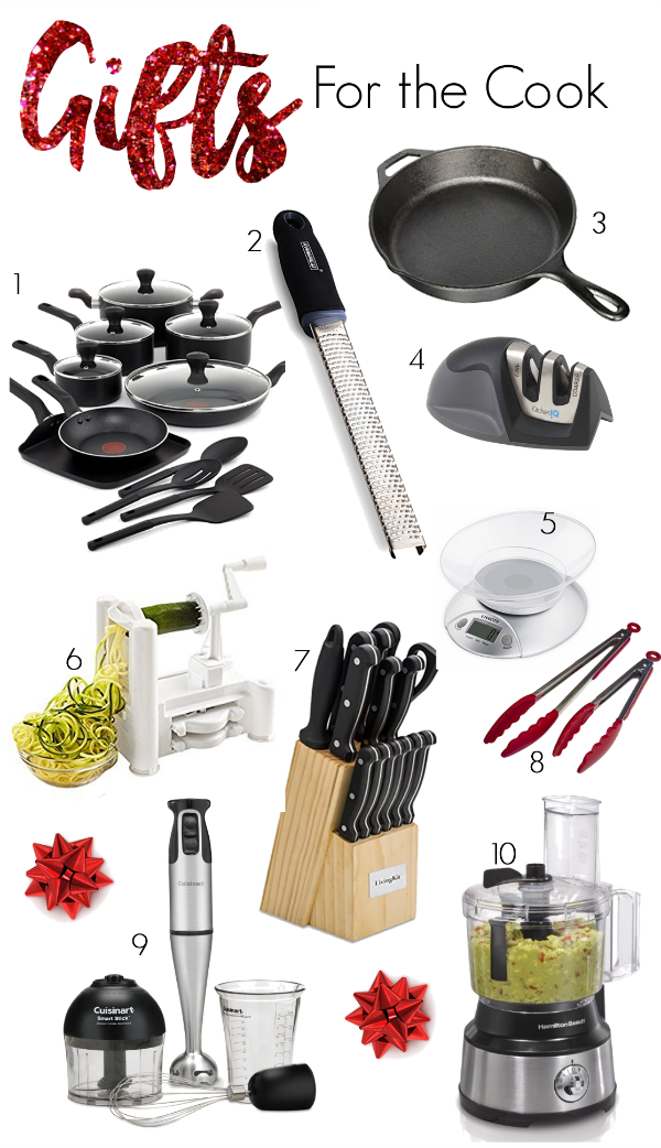 Holiday Gift Guide for cooks Christmas 2016