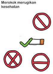 Jawaban Merokok Merugikan Kesehatan Brain Out