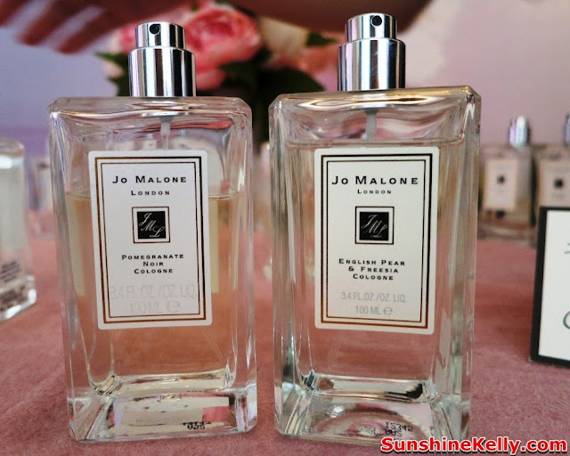 Jo Malone Peony & Blush Suede, Jo Malone London, Fragrance, Scented Candle, Pomegranate Noir layer with English Pear & Freesia