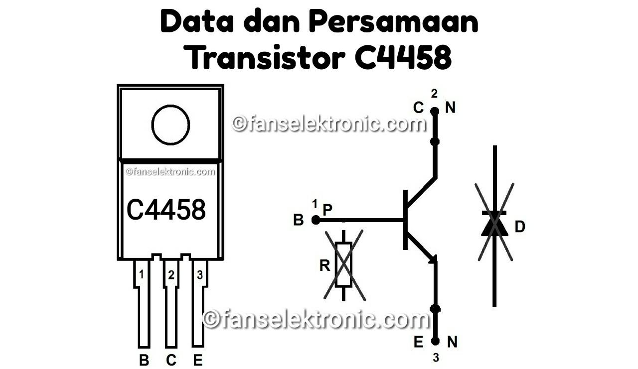 Persamaan Transistor D4458