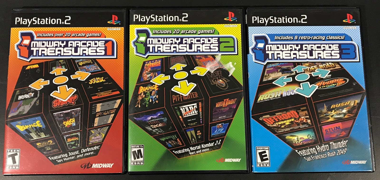 Retro Gamer Randomness: Game Compilations for the PS2