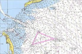 الخرائط البحرية