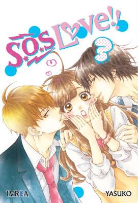 Review del manga S.O.S Love!! Vol. 3 y 4 de Yasuko - Editorial Ivrea