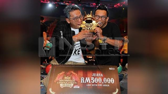 SHIRO Juara Maharaja Lawak Mega 2018