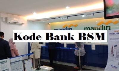 kode bank bsm