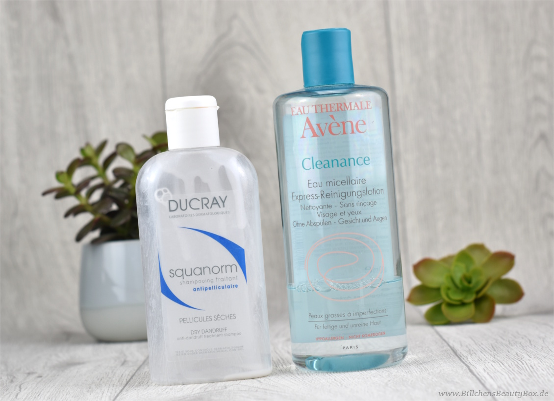Tried & Tested - 5 Kurzreviews - DUCRAY squanorm Shampoo & Avéne - Cleanance Express-Reinigungslotion