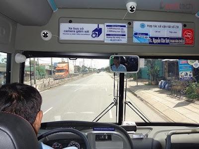 Giải pháp camera quan sát cho xe khách