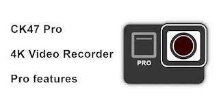 CK47 Pro 4K video recorder (Holiday sale) v2020.19