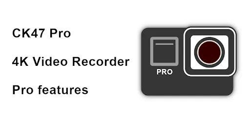 CK47 Pro 4K video recorder (Holiday sale) v2020.19