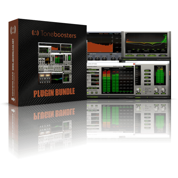 ToneBoosters Plugin Bundle v1.5.3 Full version