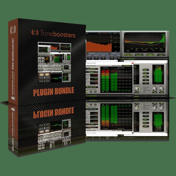 ToneBoosters Plugin Bundle v1.3.3 Full version