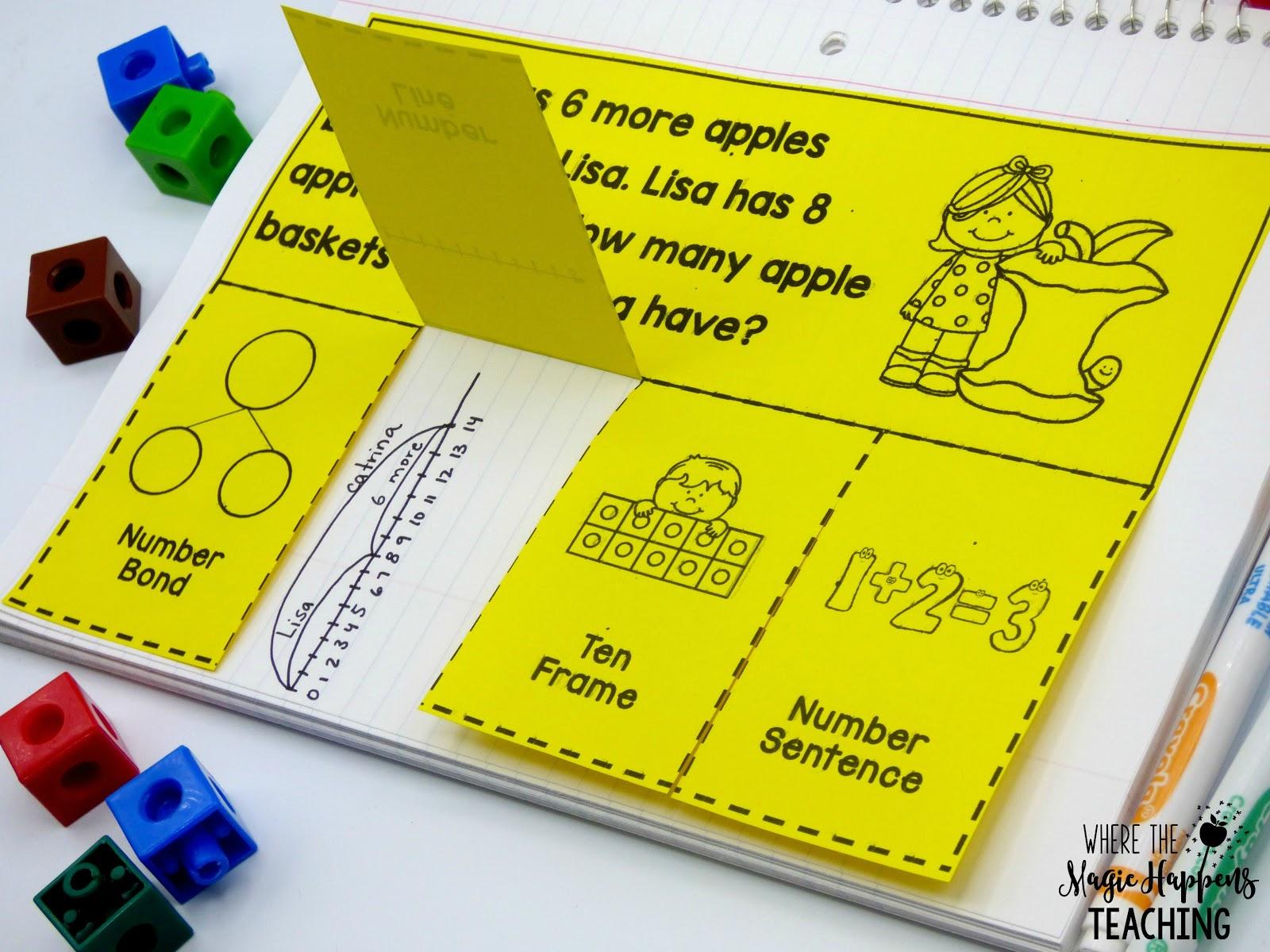 15 September Math Centers For 1st Grade