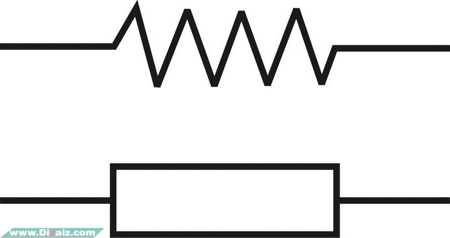 Simbol-Simbol Resistor Pada Rangkaian Elektronika