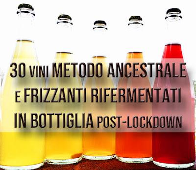 metodo ancestrale rifermentati in bottiglia lockdown