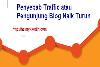 Penyebab mengapa traffic blog tidak stabil